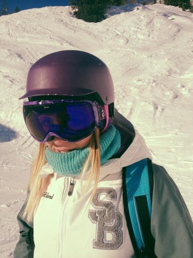 goggles & helmet