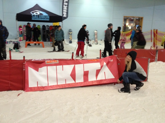 Nikita & Salomon Snowboard demo at Manchester
