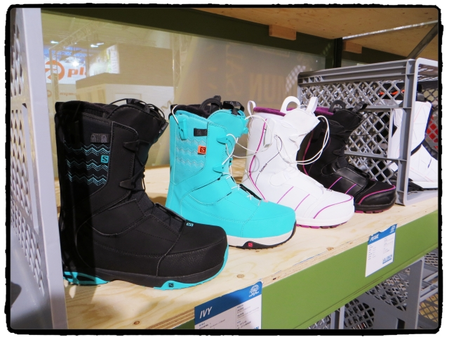 ISPO Munich - Salomon & Nikita Snowboard Boots 2015