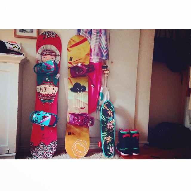 Caroline's board collection