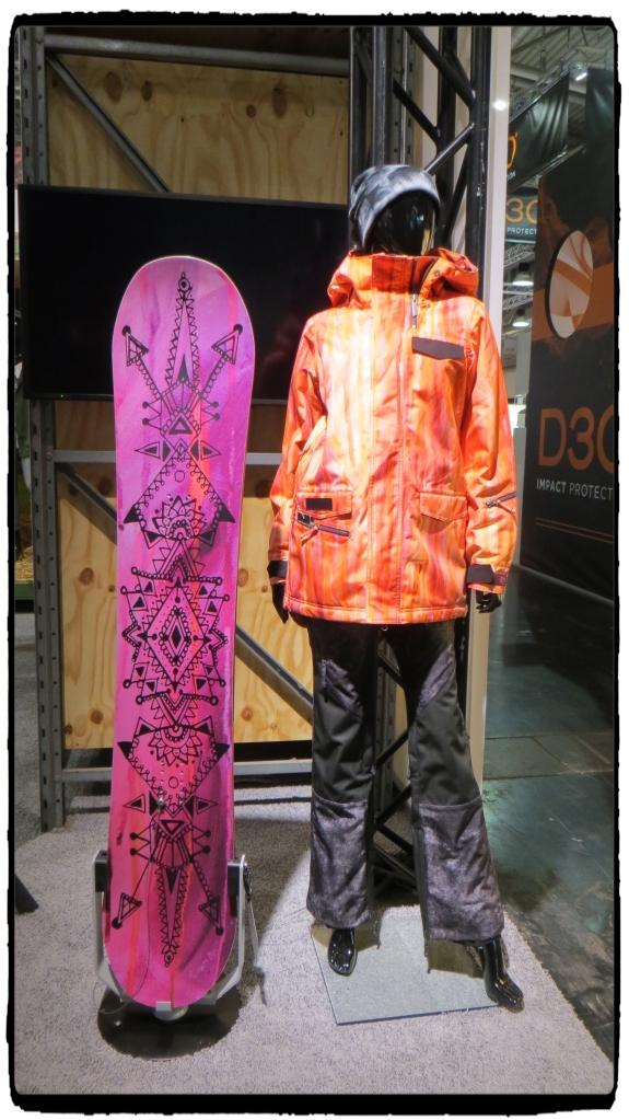 Nikita Expression Snowboard & Heida's signature jacket