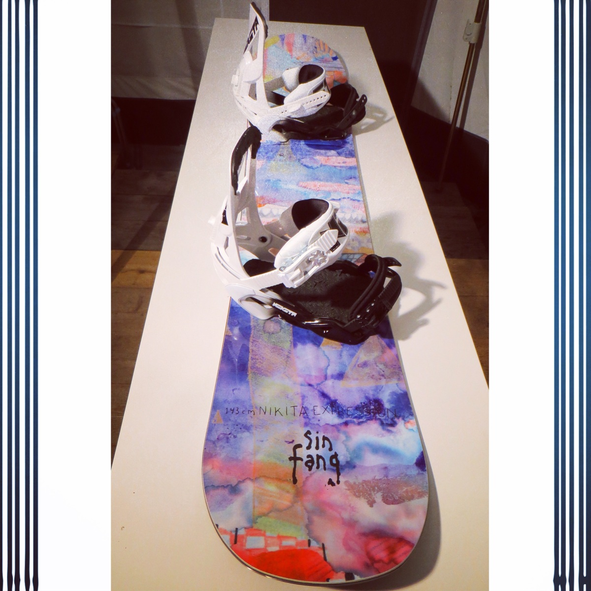 My Snowboard Setup